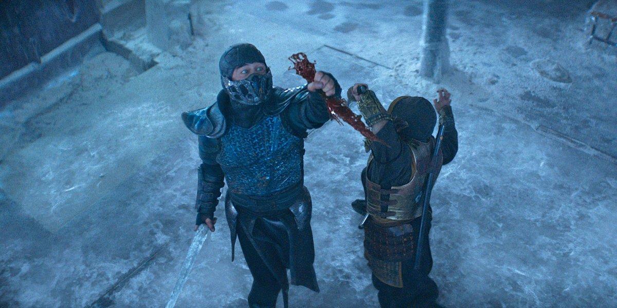 Joe Taslim and Hiroyuki Sanada in Mortal Kombat