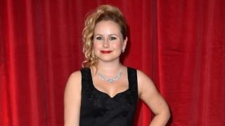 Dolly-Rose Campbell attends a red carpet event