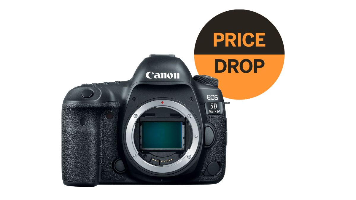 This amazing holiday deal on the Canon 5D Mark IV is STILL going