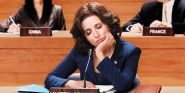 Watch Julia Louis-Dreyfus Hilariously Play Veep's Selina Meyer To Encourage Voting