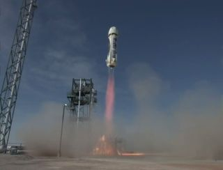Blue Origin Launches Fourth New Shepard Flight