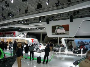 Ultra HD LED Screens at the Frankfurt Auto Show