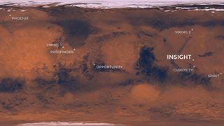 Elysium Planitia on Mars is flat and smooth | Credit: NASA / JPL-CALTECH