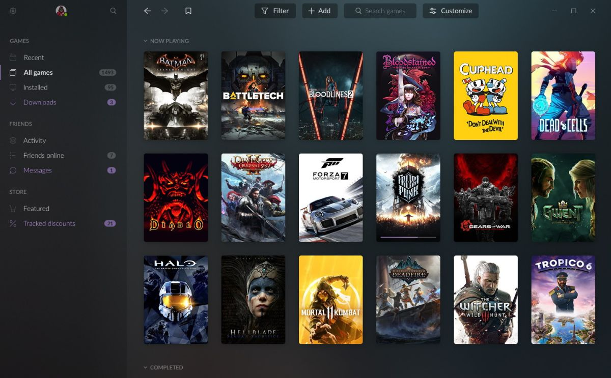 GOG Galaxy 2 0 aims to bring games from all PC and console