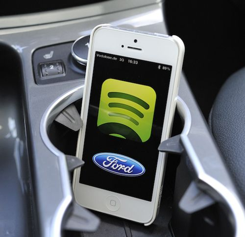 spotify in car system comes to uk with ford sync applink what hi fi. Black Bedroom Furniture Sets. Home Design Ideas
