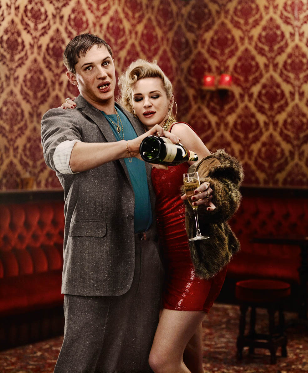 Tom Hardy: 'I'm playing another psychopath!'