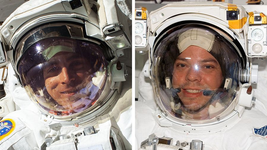 Watch live! Astronauts taking spacewalk outside space station - Space.com