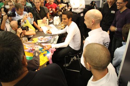 Alberto Contador, Cycle Show 2009