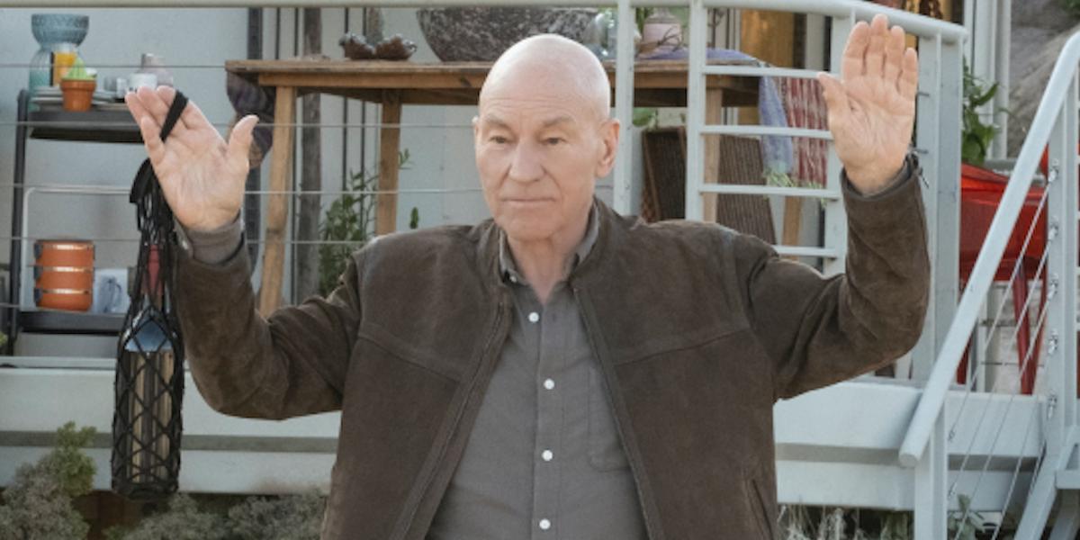 Star Trek Picard Patrick Stewart Jean-Luc Picard CBS All Access