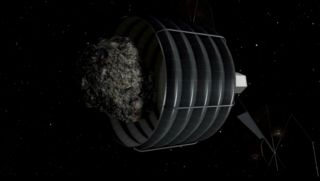 NASA Asteroid Initiative Mission Capture