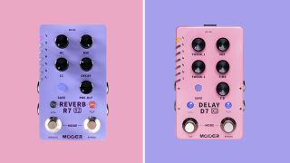 Mooer D7 and R7 X2 delay and reverb