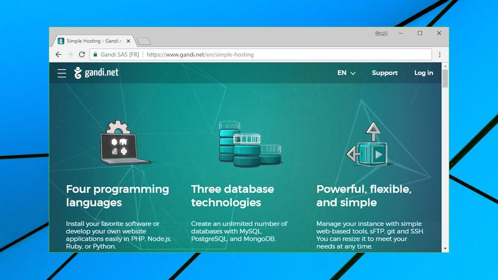 Gandi review | TechRadar