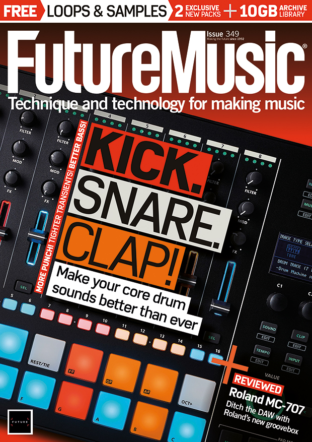 Issue 349 of Future Music is on sale now | MusicRadar