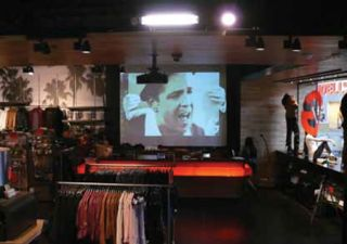 Casio's Lamp Free Projectors an Enduring Solution for Guess Stores