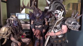 Gwar in the studio