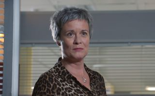 Holby City Serena Campbell [Catherine Russell] leaving