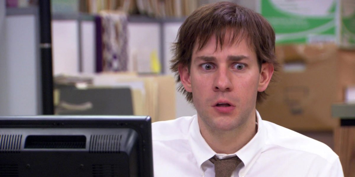 John Krasinski Wore A Wig On The Office For Some Time And The Backstory Is Classic - CinemaBlend
