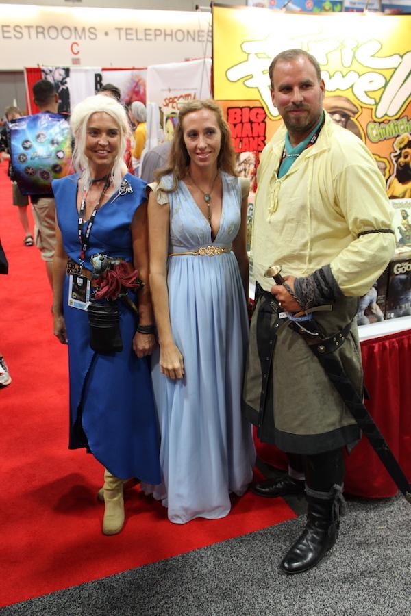 SDCC Costume trio