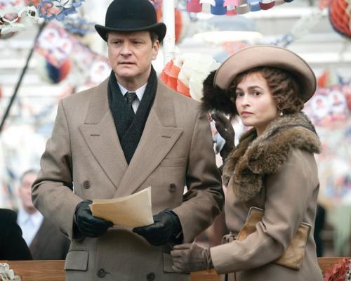 The King's Speech - Colin Firth & Helena Bonham Carter