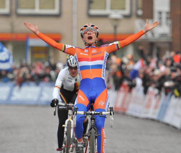 Marianne Vos cyclo cross world champs 2009