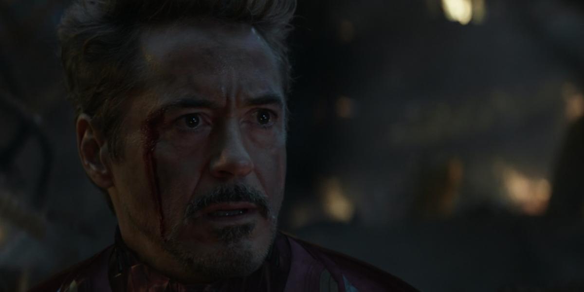 RDJ in Avengers: Endgame