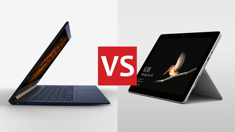 Acer Swift 5 vs Microsoft Surface Go