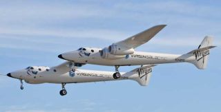 SpaceShipTwo Carrier Craft Makes Successful First Flight