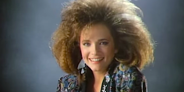 lea thompson's big hair howard the duck