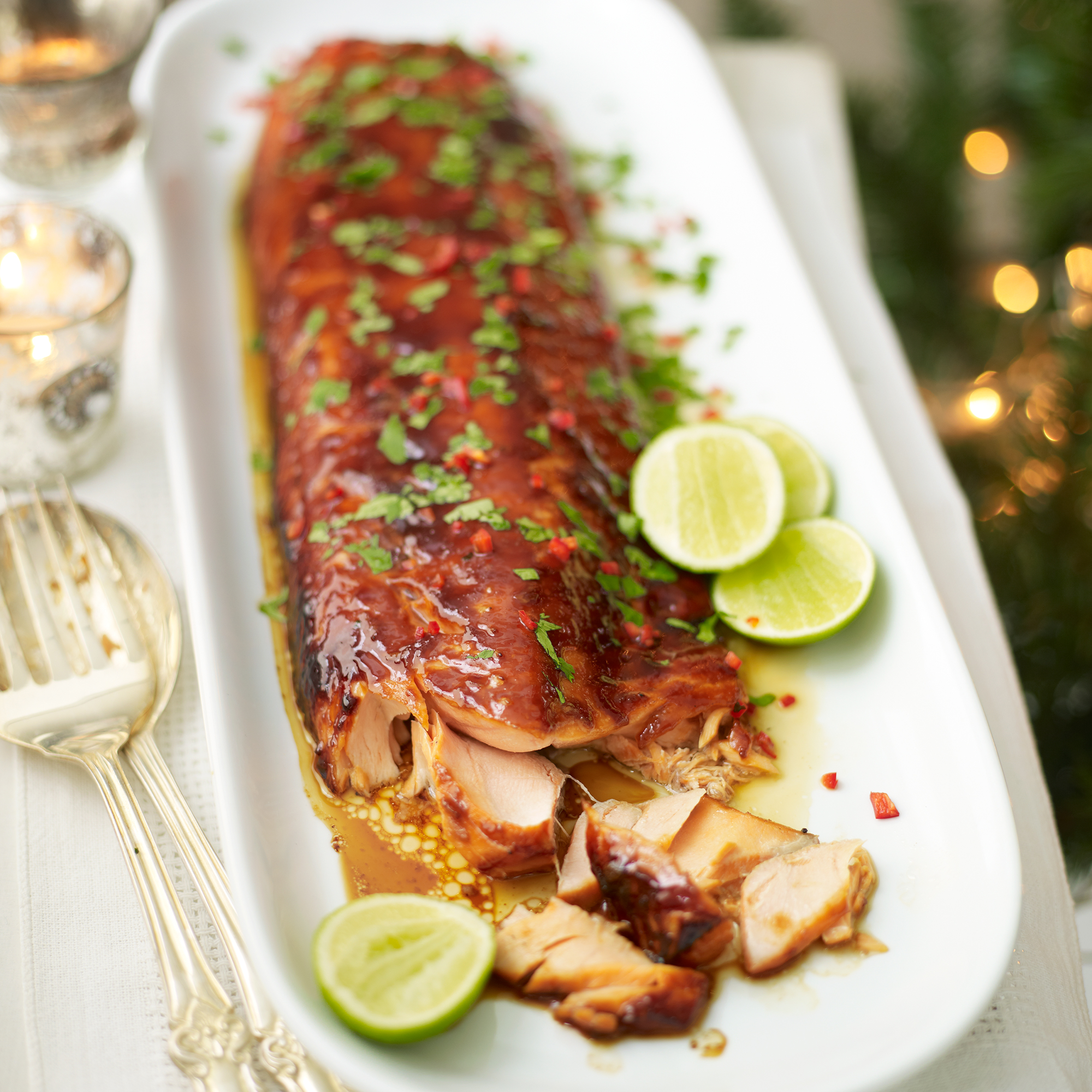 Asian Sticky Salmon Dinner Recipes Woman Home