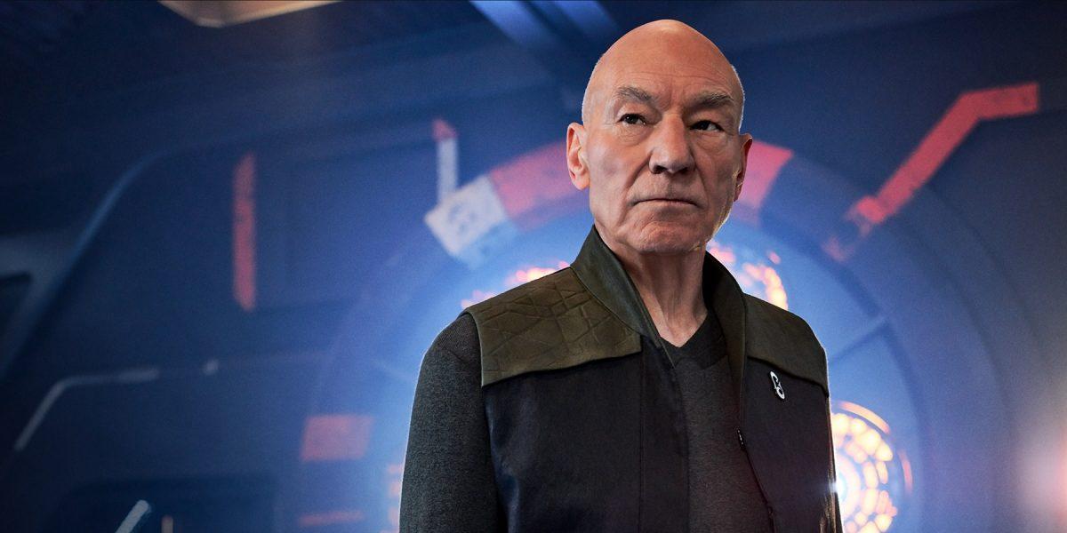 Patrick Stewart in Star Trek: Picard.