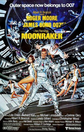 """""""Moonraker"""" Poster"""