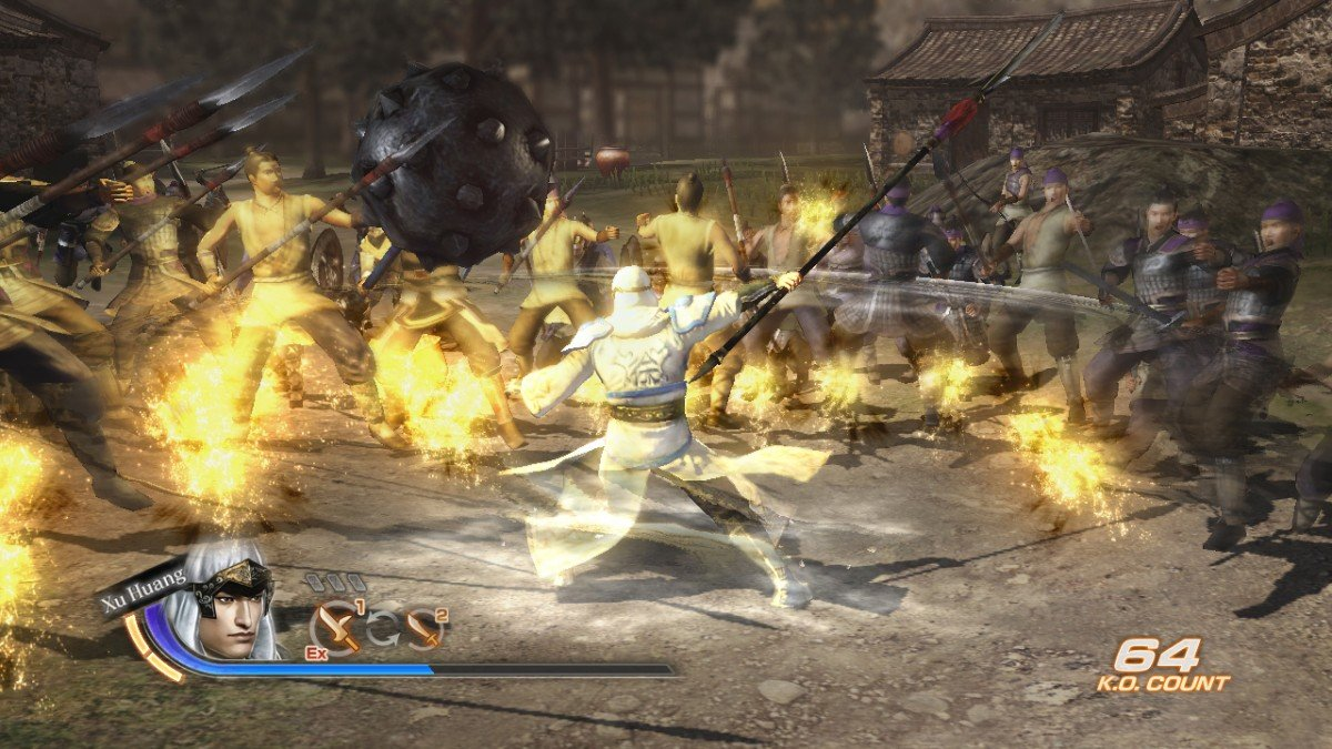 Dynasty Warriors 7 Character And Combat Screenshots #16500