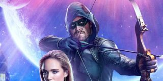 oliver queen crisis on infinite earths poster the cw arrow-verse