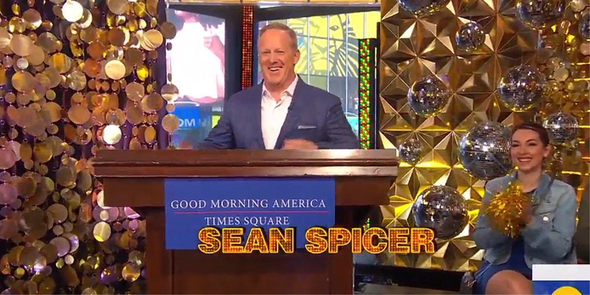 Sean Spicer Has Some Thoughts After Dancing With The Stars Backlash