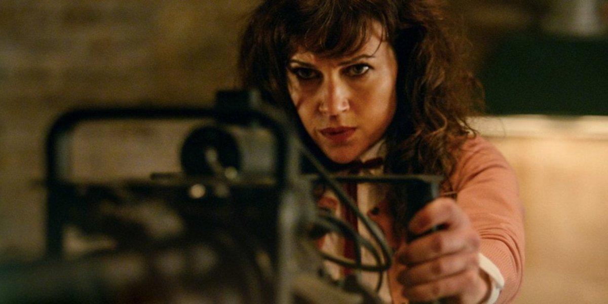Carla Gugino in Gunpowder Milkshake