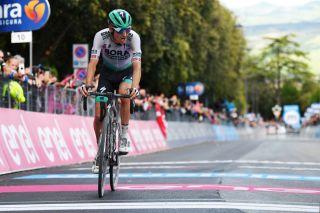 Emanuel Buchmann (Bora-Hansgrohe) on stage 11 of the Giro d'Italia