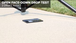 Galaxy z Fold 3 drop testing allstate protection plans