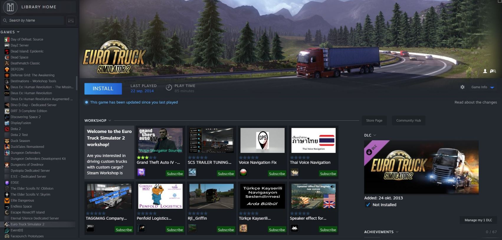 This is Steam's new design, according to a leak | PC Gamer