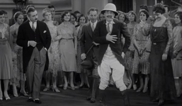 Groucho dancing as Captain Spaulding in Animal Crackers