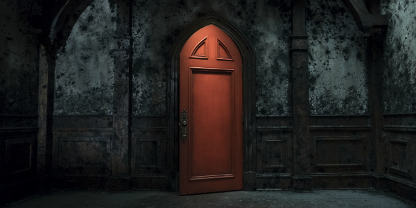 The Haunting of Hill House Netflix Red Door