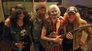 Slash, Rob Zombie, John 5 and Steven Adler