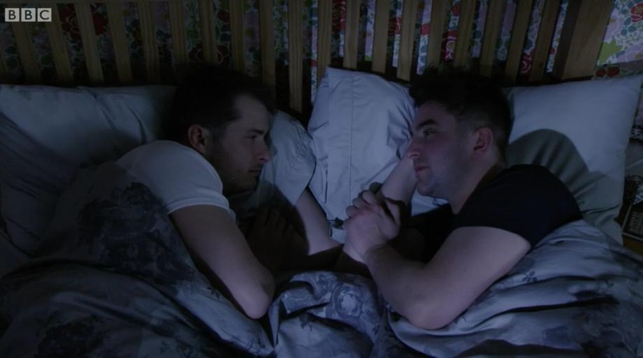 Ben and Callum EastEnders BBC