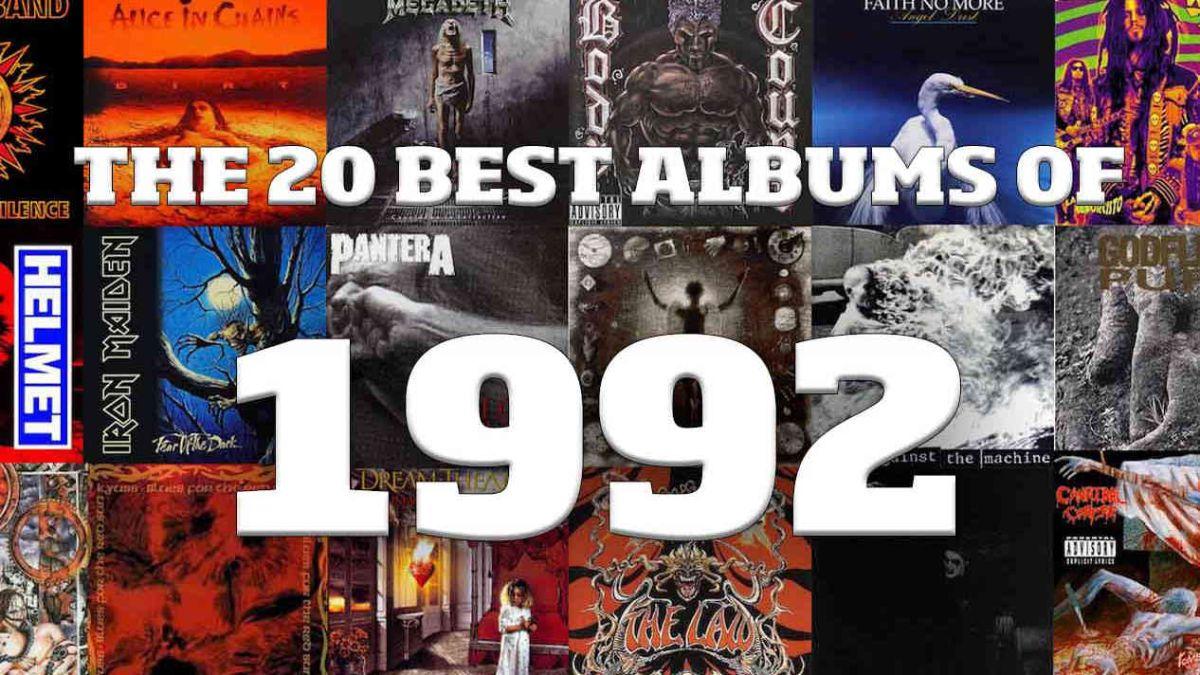 The Top 20 best metal albums of 1992