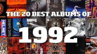 From Iron Maiden and Megadeth to Faith No More and Alice In Chains, these are the 10 best albums of 1992