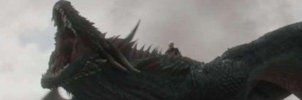 Drogon is angry.