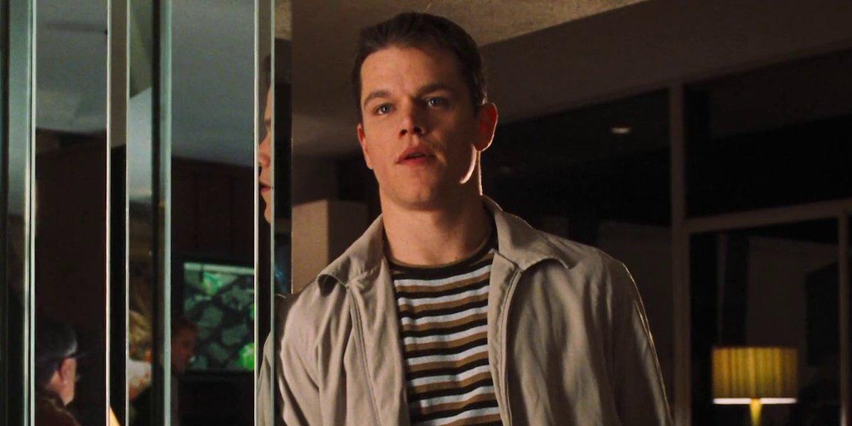 Matt Damon in Ocean's Eleven