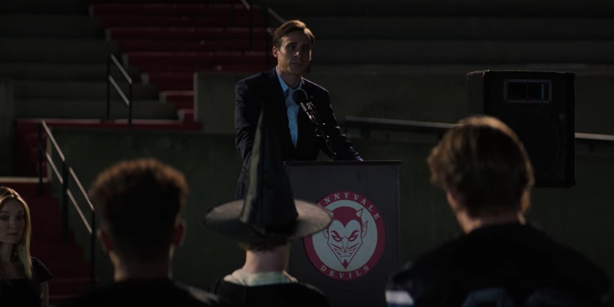 Matthew Zuk as Mayor Will Good in Fear Street Part One: 1994