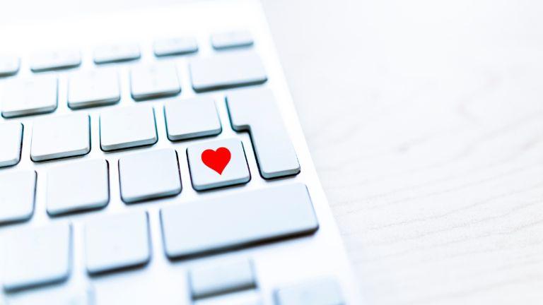 Porn for women laptop heart