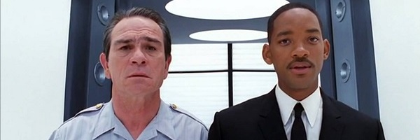 Men In Black Tommy Lee Jones Will Smith Kevin and Agent J in the deneurolyzer