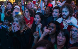Office Christmas Party Jennifer Aniston Olivia Munn Jason Bateman TJ Miller